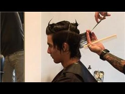 Hair Care Advice for Men : Instructions for Cutting Mens Hair - YouTube