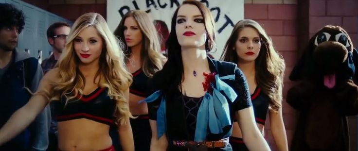 "Brooke Butler, Reanin Johannink, Sianoa Smit-McPhee and Caitlin Stasey in ""All Cheerleaders Die"" (2013)"