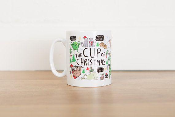La tazza del regalo di Natale  Santa  divertente Natale Mug