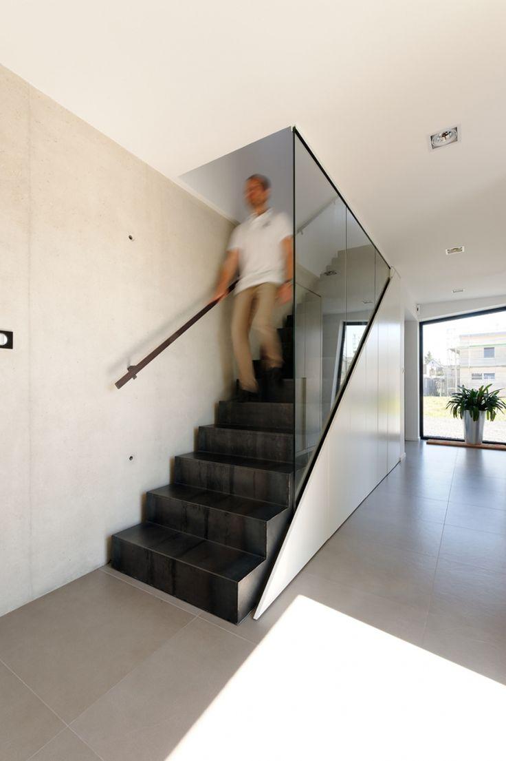 Meer dan 1000 ideeën over metalen trap op pinterest   trappen en ...