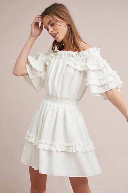 f74b981bb1d1 Steele Hamptons Off-The-Shoulder Dress