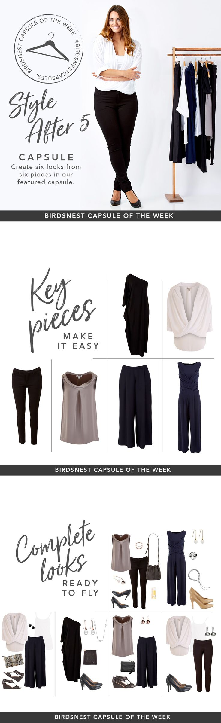 Great pieces for clothes to wear for my gigs - lots of great variety and yet minimal!