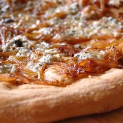 Caramelized Onion and Gorgonzola Pizza | Recipe