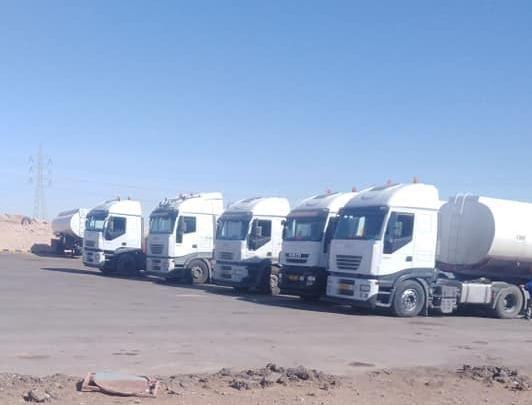 البريقة للنفط تعلن إرسال قافلة وقود جديدة إلى الجنوب Recreational Vehicles Libya Vehicles