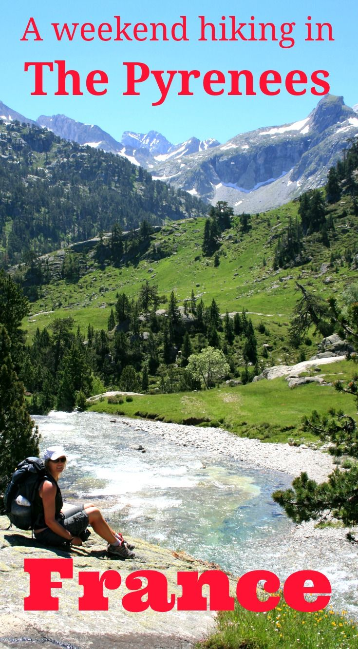 A fabulous long weekend hiking in the French Pyrenees - flying into Toulouse and walking up to the Refuge Wallon - three fabulous day walks in the Pyrenees: http://www.worldwanderingkiwi.com/2011/10/day-walks-hiking-in-the-french-pyrenees/