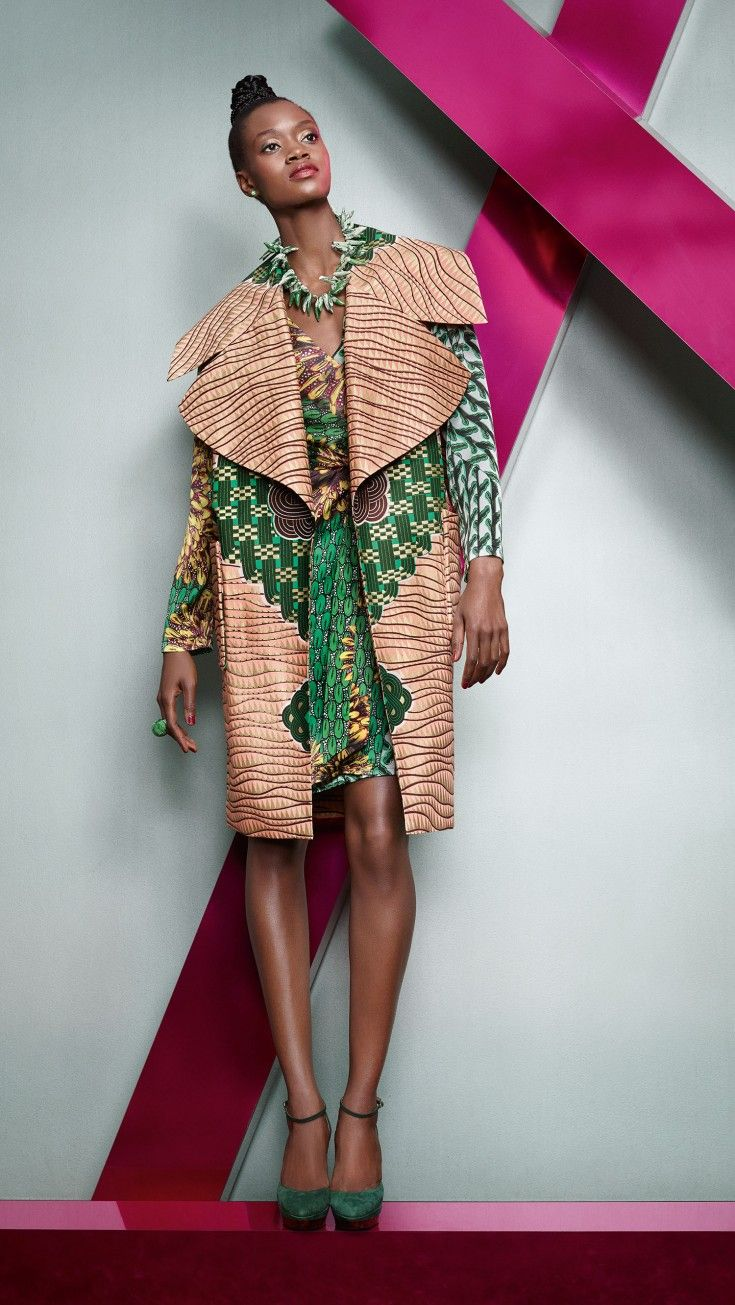 Vlisco collection Woven Wisdom - Pagnifik
