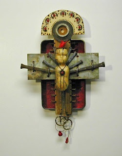 ⌼ Artistic Assemblages ⌼  Mixed Media & Collage Art - Carla Trulillo