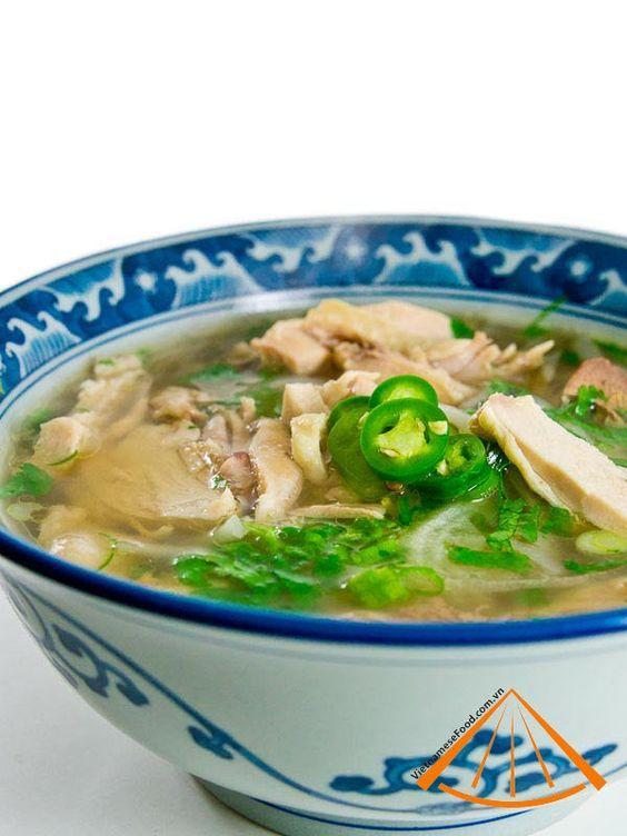 Pho ga (Vietnamese Chicken Pho recipe)