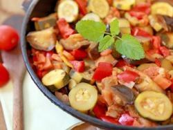Ratatouille aux légumes du soleil   Diabète - Association Française des Diabétiques - AFD