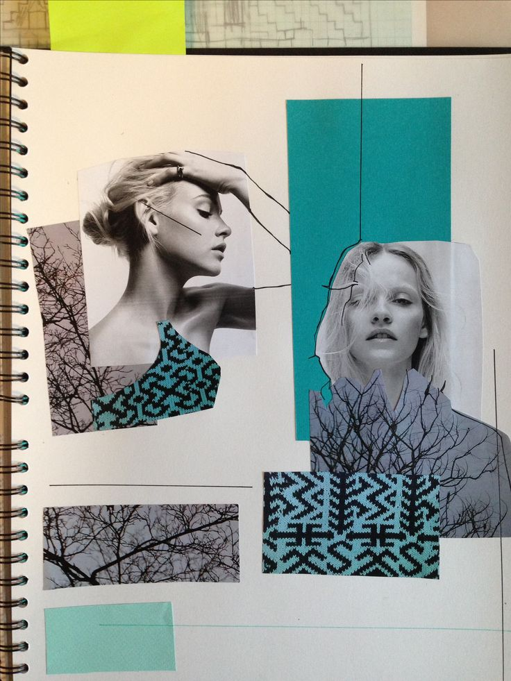 Knitwear sketchbook // Daina Cutulab