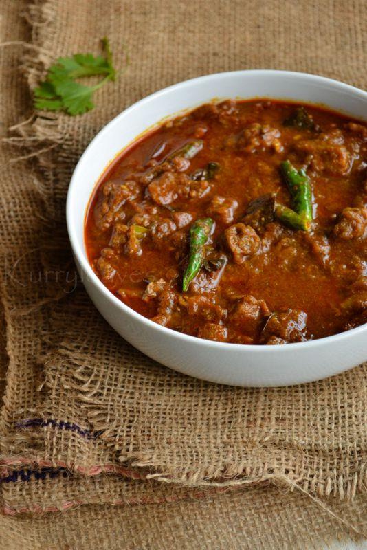 Thattukada Style Beef Curry / Nadan Beef Curry | kurryleaves [fennel seeds, turmeric, coriander, cinnamon, star anise, cardamom, garlic, Kashmiri chili powder, curry leaves, ginger] #Indian
