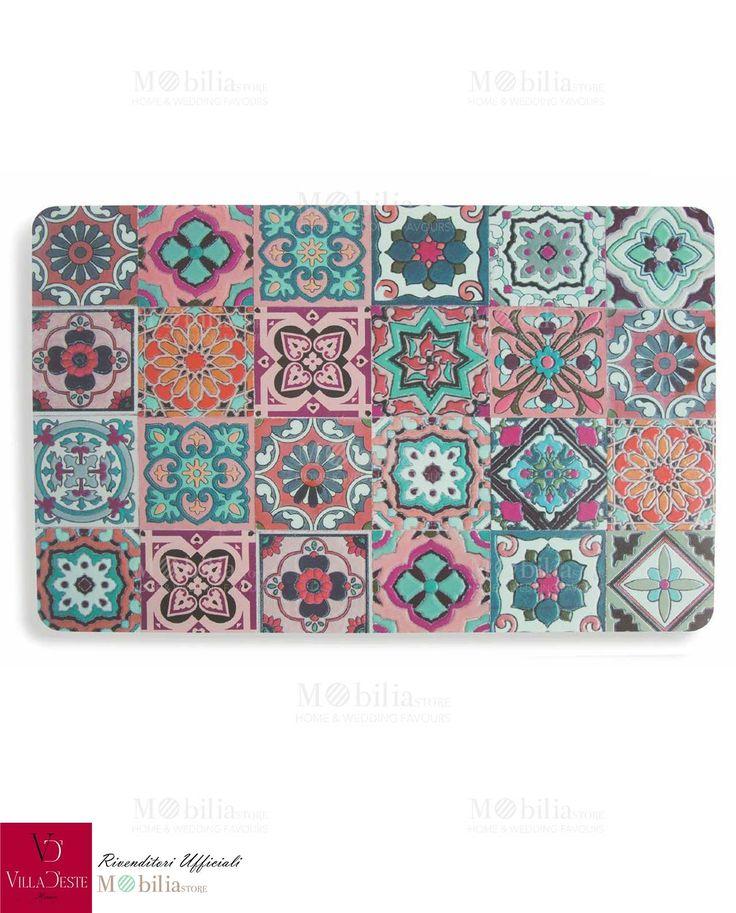 Set 6 Tovagliette Plastificate Marrakech, da mettere e togliere in un attimo, che possono diventare delle splendide decorazioni per iniziare la giornata con il sorriso. Scopri le offerte su Mobilia Store.