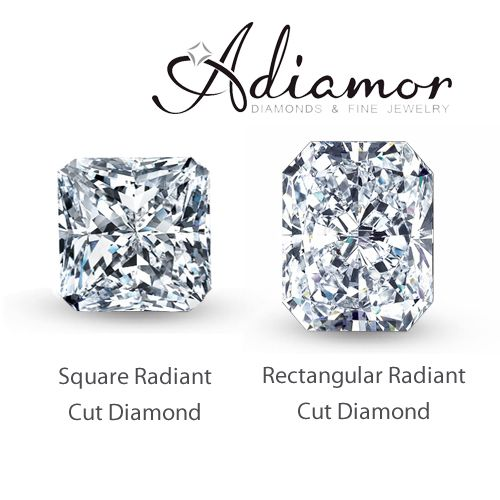 #Radiant cut #diamonds?? Yes, please! Which do you prefer: a square shape, or more rectangular? :)
