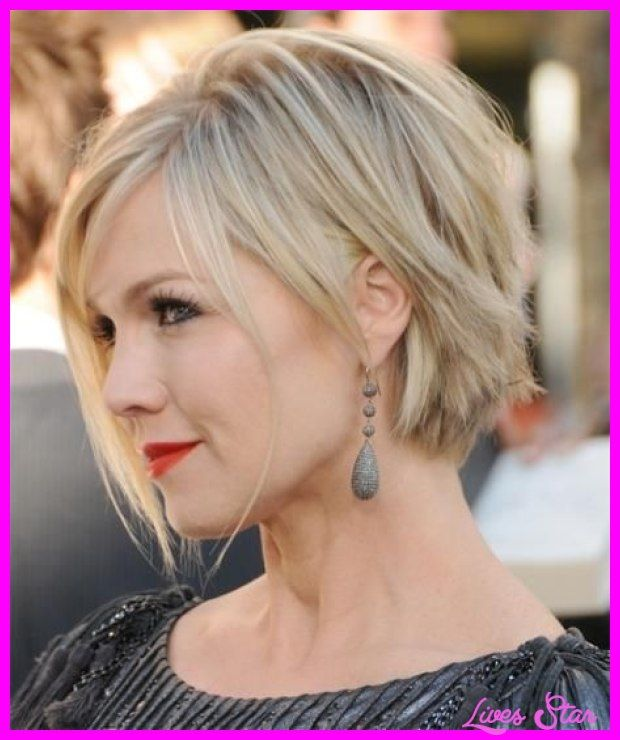 nice Short hairstyles for fat faces