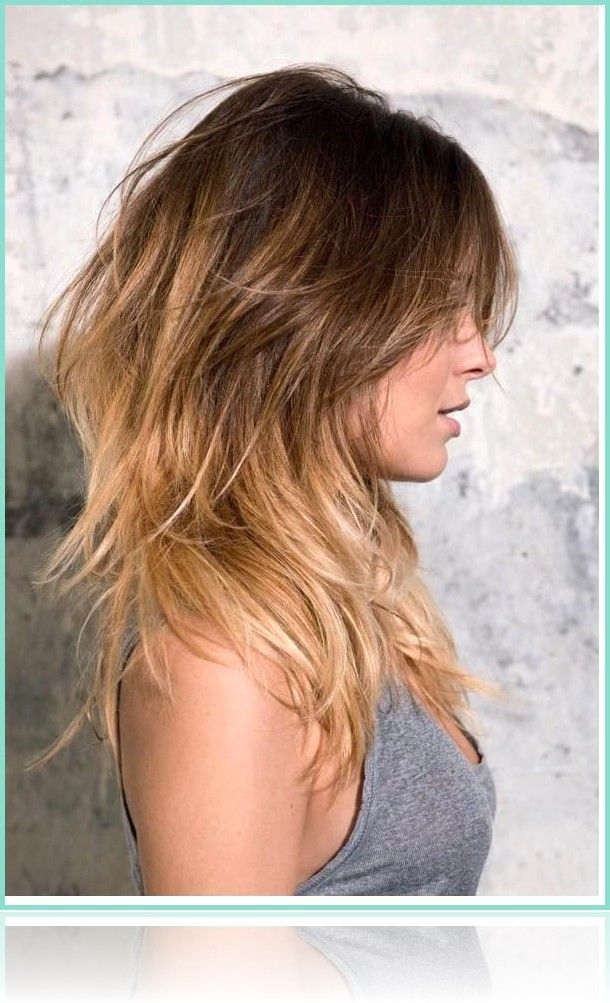 Tiered Hairstyles Models 2019 for Women Long Hair Tiered Cut #Hair #lang … – #cut #hair #h…