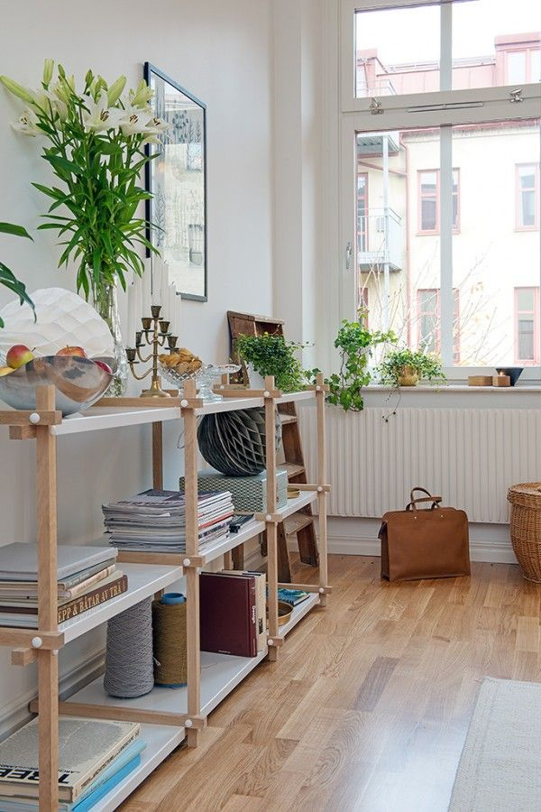 Un appartement la d co scandinave et f minine i n t e for Appartement deco pinterest
