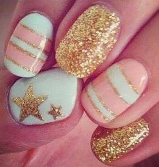 Latest Teenage Nail Art Design Collection 2014 | Best Teen Fashion