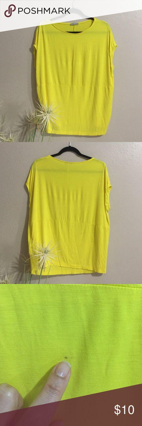 Zara Collection T-shirt Great condition T-shirt in neon yellow, short sleeve. Zara Tops Tees - Short Sleeve
