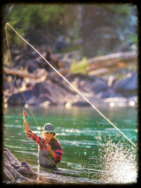 17 best ideas about fly fishing girls on pinterest | fly fishing, Fly Fishing Bait