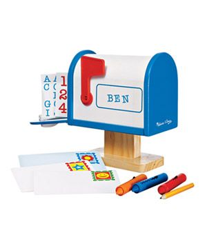 "My Own Mailbox Preschoolers can learn all about the days when ""letters"""