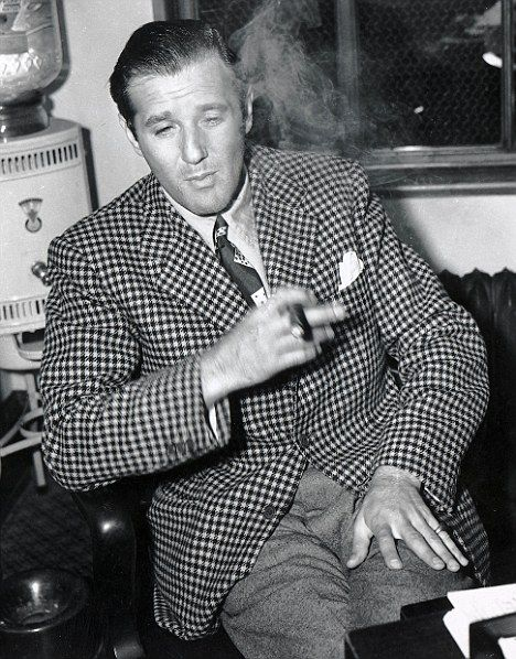 Infamous and feared, Bugsy Siegel was also known for his sartorial style. He was as handsome and debonair as the Hollywood actors he socialized with.