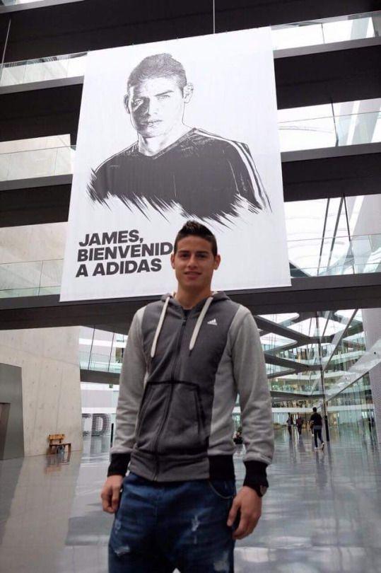James at Adidas. March 2015