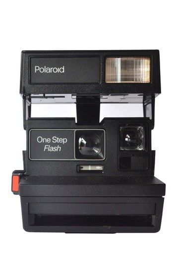 Remember these? Polaroids used to be THE thing, but it did take forever to see what you shot. Now we just touch a screen and have ALL of our moments captured. Progress man, progress. Authentic Vintage Finds Boutique Vintage Polaroid One Step Flash Camera c1970s
