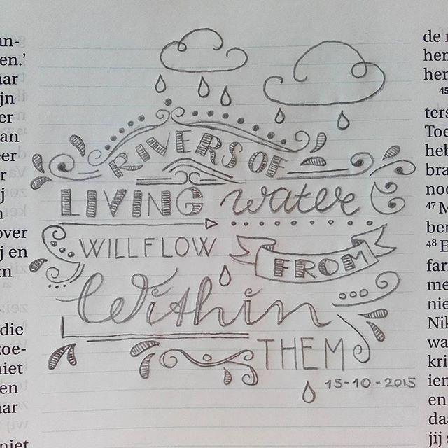 John 7:38 // @byjens