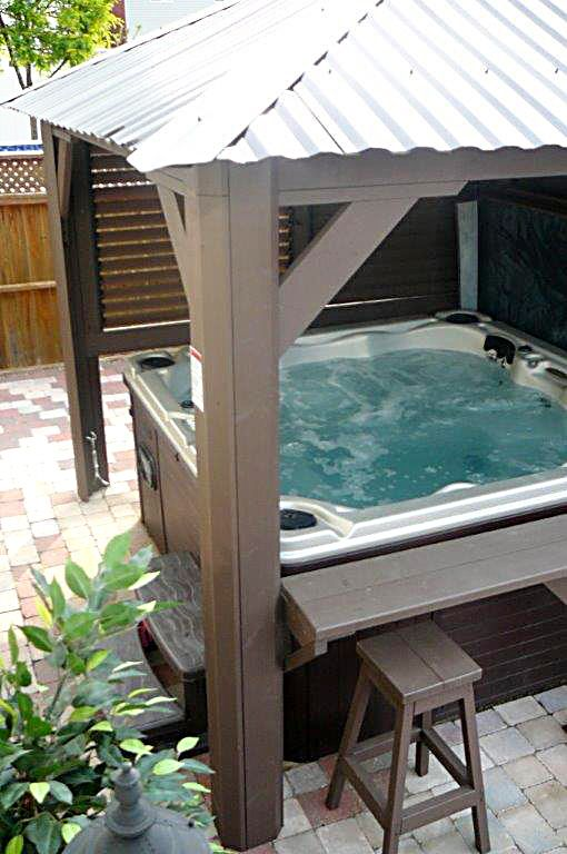 65 best deco spas hot tub images on pinterest bubble baths hot tubs and jacuzzi. Black Bedroom Furniture Sets. Home Design Ideas