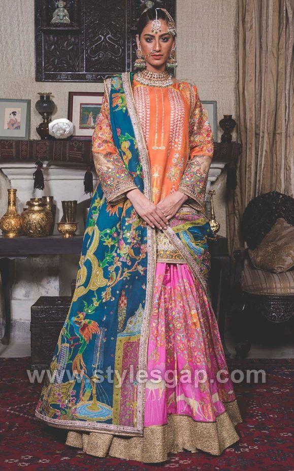 fd7cda6209 Fahad Hussayn Latest Pakistani Designer Bridal Dresses 2018-19 Designs |  Indian style