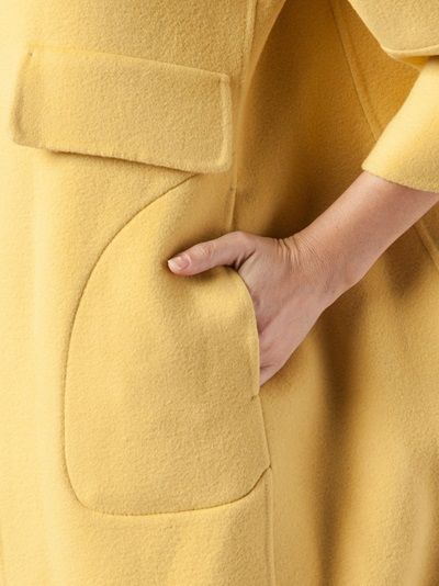 JIL SANDER - oversized coat dress 11