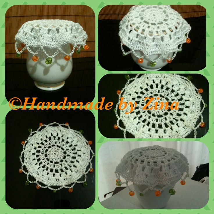 1000+ images about Crochet Doilies with beads on Pinterest ...