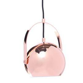 Soho at Heal's Handle Me Ball Light Copper Pendant Light