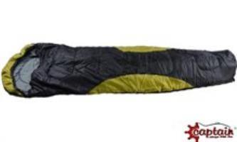 400 gram ağırlığa sahip soğuklara karşı dayanıklı captain uyku tulumu