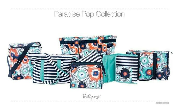 Paradise Pophttps://www.facebook.com/StyleItUpWithBre   www.facebook.com/StyleItUpWithBre  #thirtyone: 31 Gifts, Thirtyone, Pattern, Bag, Thirty One, Paradise Pop, Favorite, Spring, Pop Collection