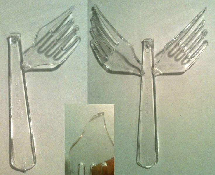 1000 images about plastic fork and spoon crafts on