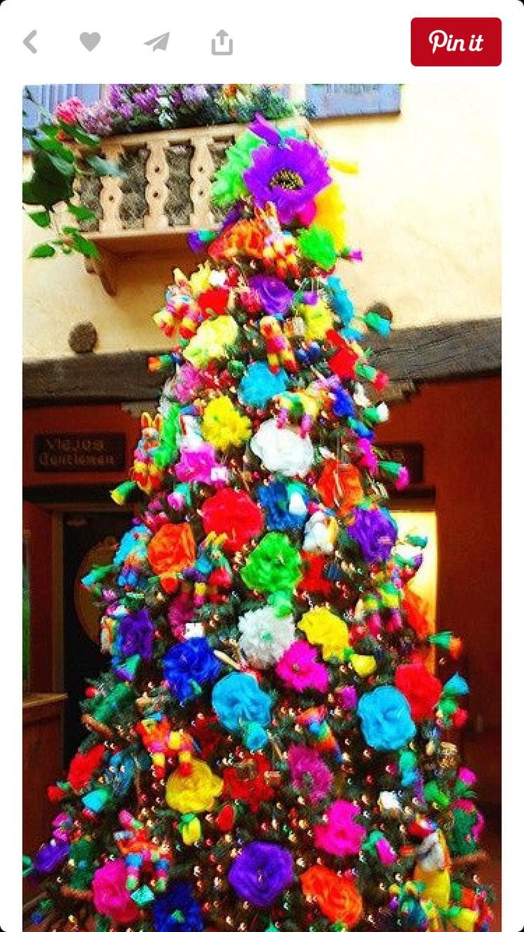 Mexican Christmas Party Ideas Part - 23: A Mexican Christmas Tree