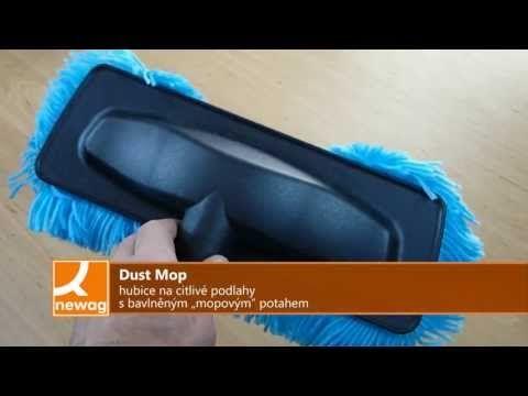 ▶ Centrální vysavače - Dust Mop hubice na citlivé podlahy - YouTube