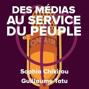 Le #21 des « Livrets de la France insoumise » aborde le thème de la presse et des médias. Il a été préparé par un groupe de travail animé par Sophia Chikirou, spécialiste de communication politique et sociale, et Guillaume Tatu, journaliste indépendant.