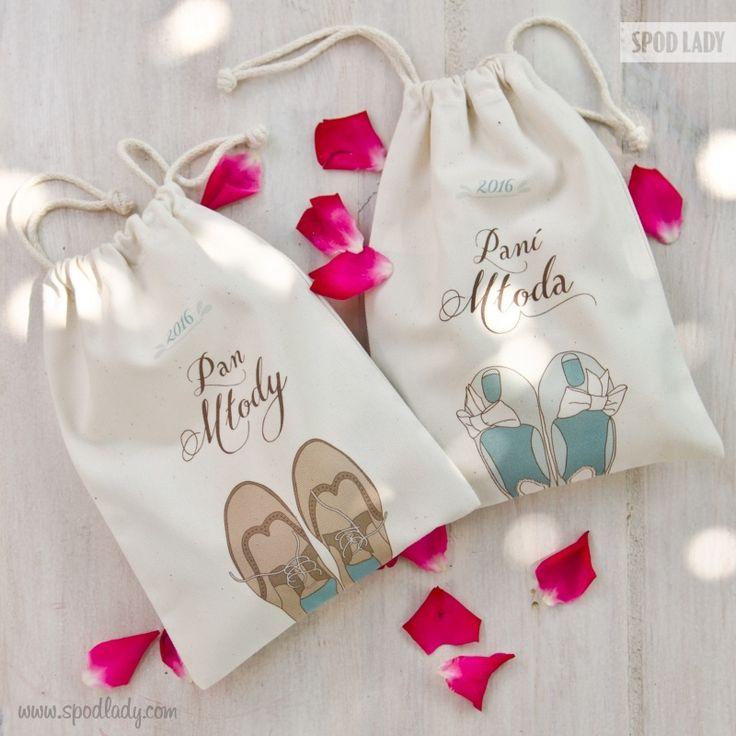 Woreczki sprawdzą się doskonale jako opakowanie do prezentów lub ślubny i rocznicowy upominek sam w sobie.