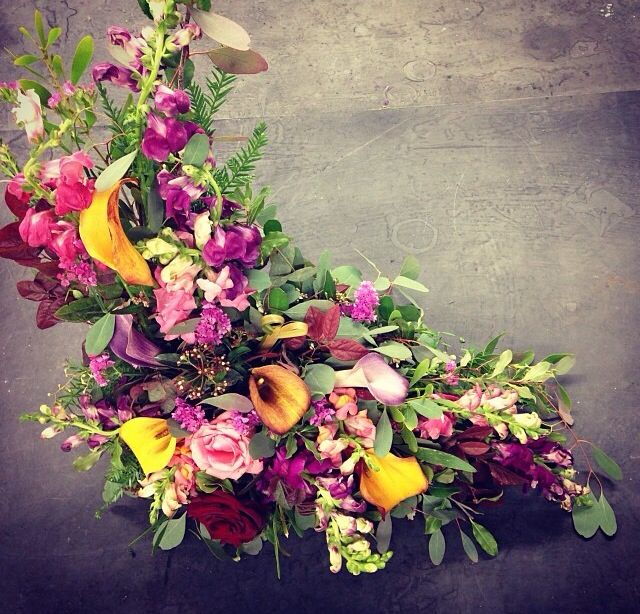 Types Of Flower Arrangement Shapes: 57 Best Images About L Shapes Floral Arrangements On