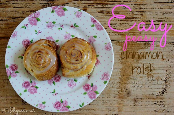 super eenvoudige kaneelbroodjes van croissant deeg gemaakt. Ga ik zeker eens proberen!