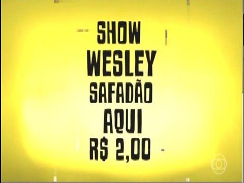 WESLEY SAFADÃO FAZ SHOW POR 2 REAIS PEGADINHA DO CALDEIRÃO DO HUCK - YouTube