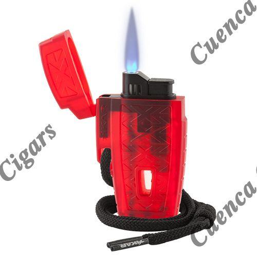 Xikar Stratosphere Single Flame High Altitude Cigar Lighter - Various Colors