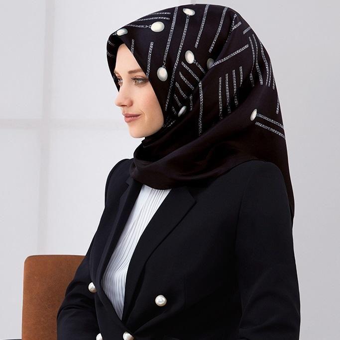 Armine Anisha Elegant Modest Head Scarf at www.hijabplanet.com - free shipping worldwide  #scarf #hijab #hijabpremium #silkscarves #fashioninspiration #hijabtutorial #beautiful #scarfstyle #fashionstylist #fashiondaily