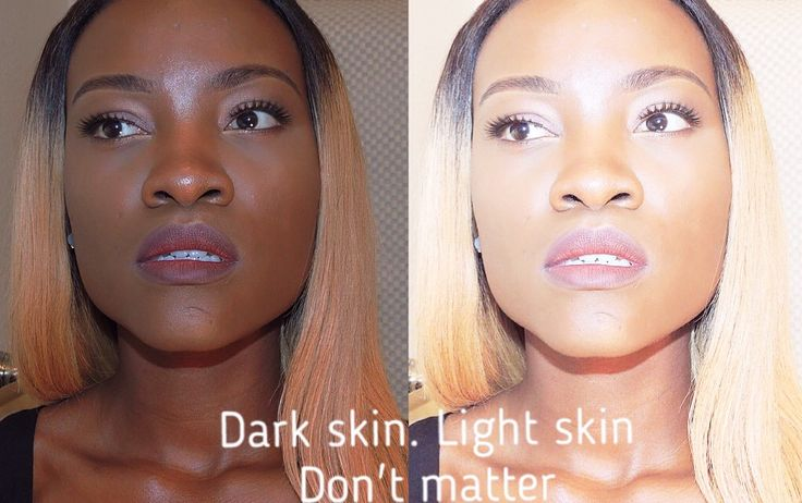 I hate when black people fight over color shade. We are all the same. Beauty come's in different shade.