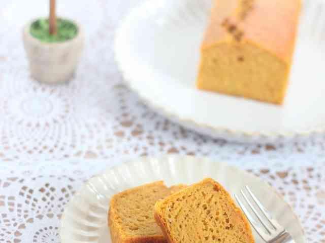 HM人参とオリーブオイルのパウンドケーキの画像