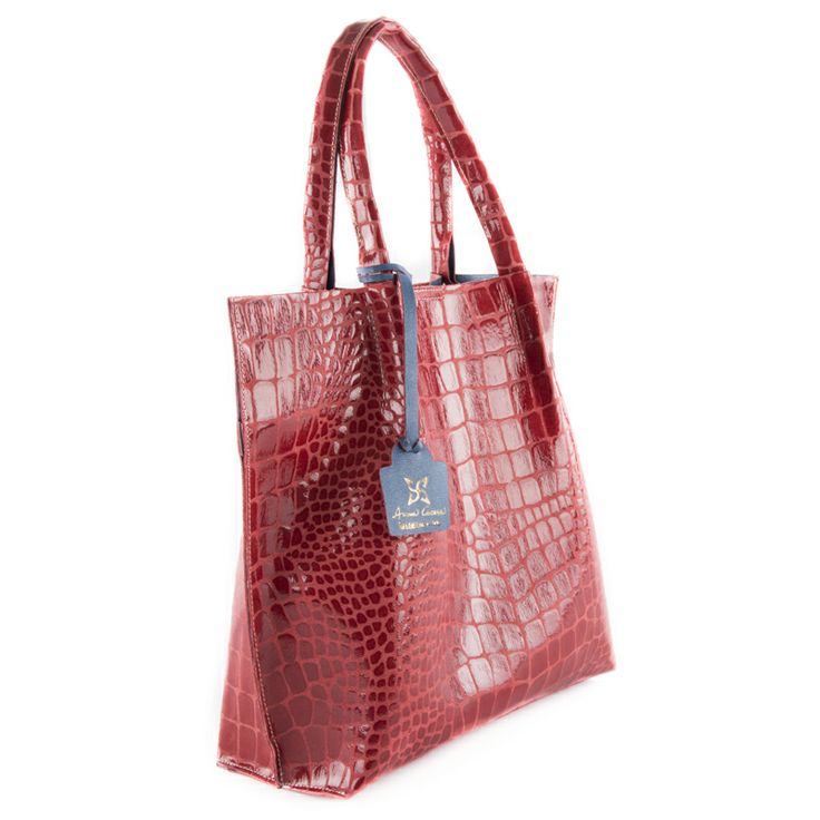 Ann rossa (red) - borsa rossa a mano in vera pelle by kokomamas collections spring summer 2014 (bags and accessorized)