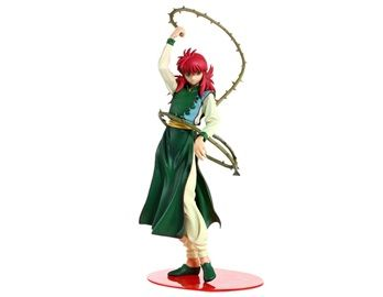 Anime PVC & ABS Yu Yu Hakushq Kurama Action Figure This Kurama figure looks very much like the real character in the anime Yu Yu Hakushq. It is a must-have item for fans of Yu Yu Hakushq.