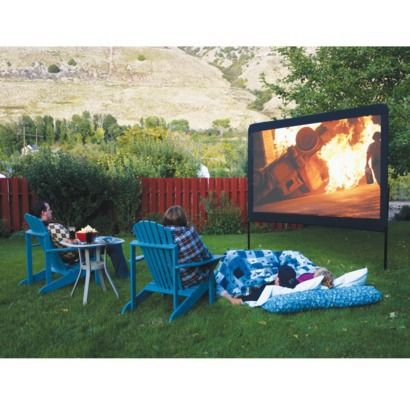 Target - Camp Chef 120-Inch Portable Outdoor Movie Theater Screen